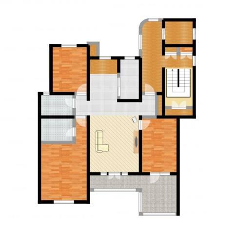 吉宝沁风御庭4室3厅5卫2厨157.00㎡户型图