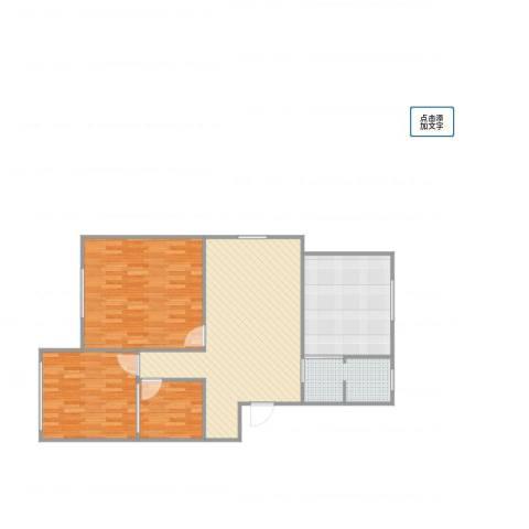 广益佳苑3室1厅1卫1厨97.00㎡户型图