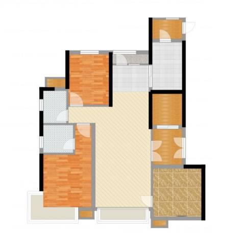 汤河铭筑4室2厅5卫1厨125.00㎡户型图