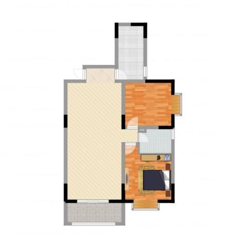 泛华盛世二期2室2厅1卫1厨102.00㎡户型图