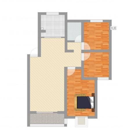 香溢世纪花城3室1厅1卫1厨117.00㎡户型图