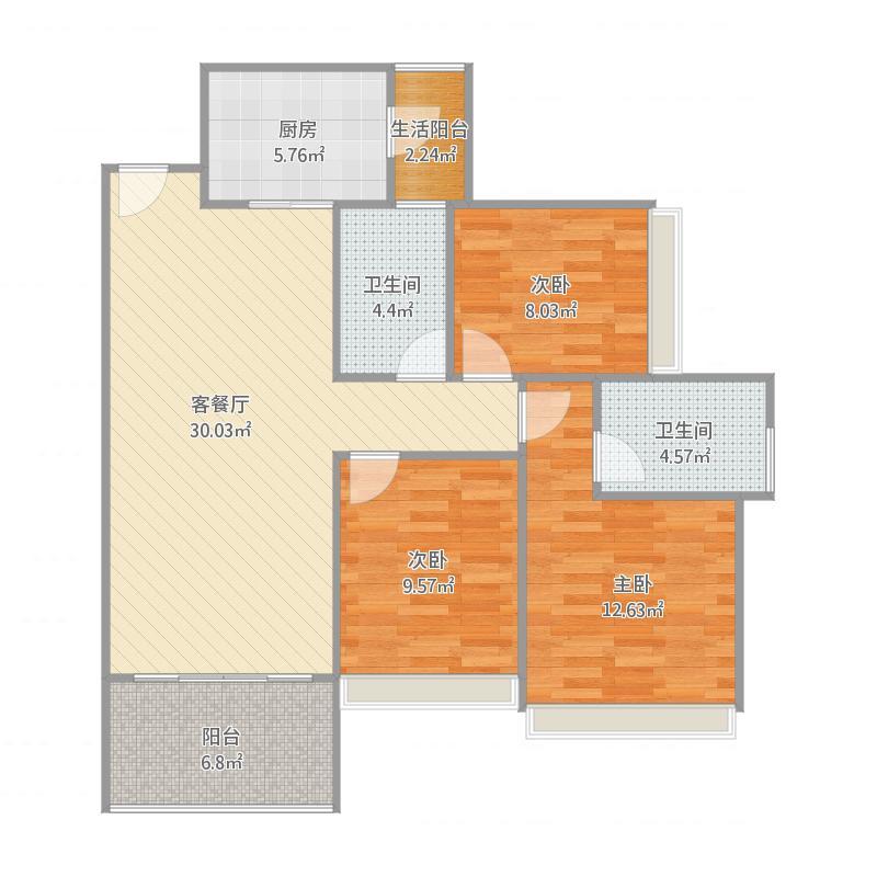 广州6603-C301-107㎡