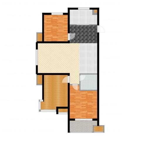 宝林大东关颐景园3室2厅1卫1厨137.00㎡户型图