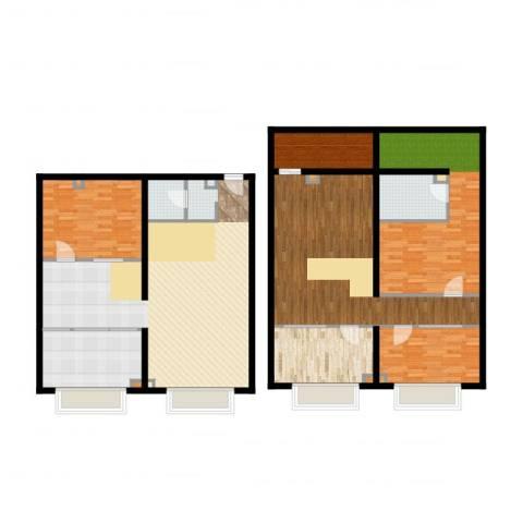 UP生活4室2厅1卫1厨192.00㎡户型图