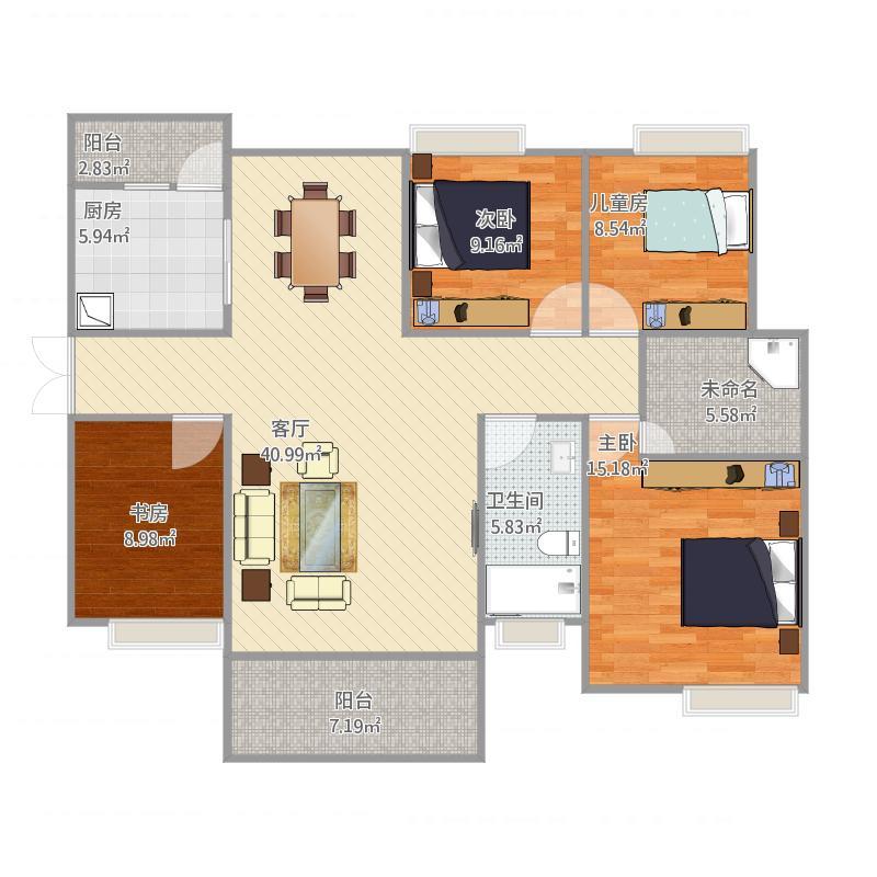 四室两厅2卫