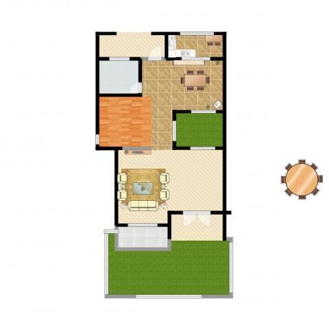 欣业嘉园2室2厅2卫1厨197.00㎡户型图