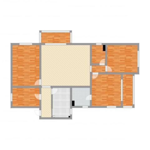 景泰大楼4室2厅3卫2厨170.00㎡户型图