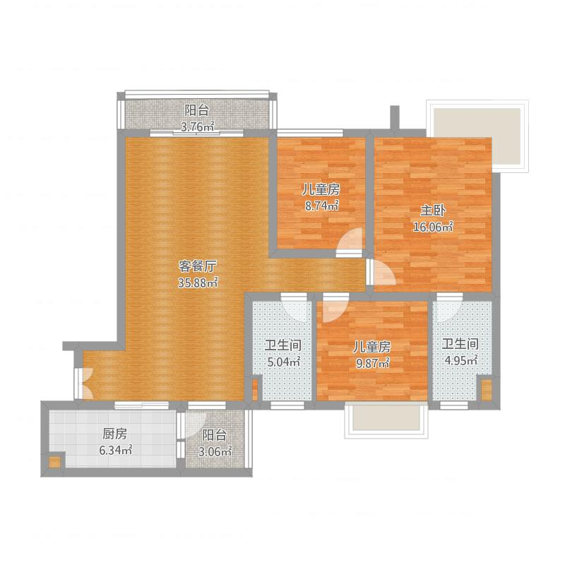 广州49074-B-113㎡