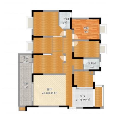 德泽苑5室1厅5卫1厨178.00㎡户型图