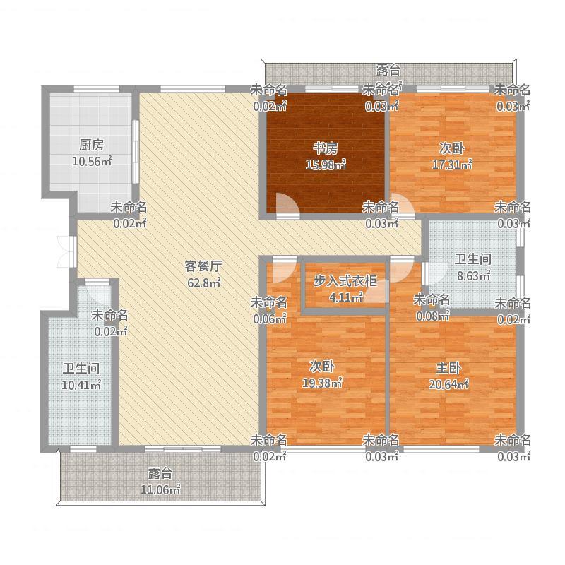 19501-4号楼-211㎡