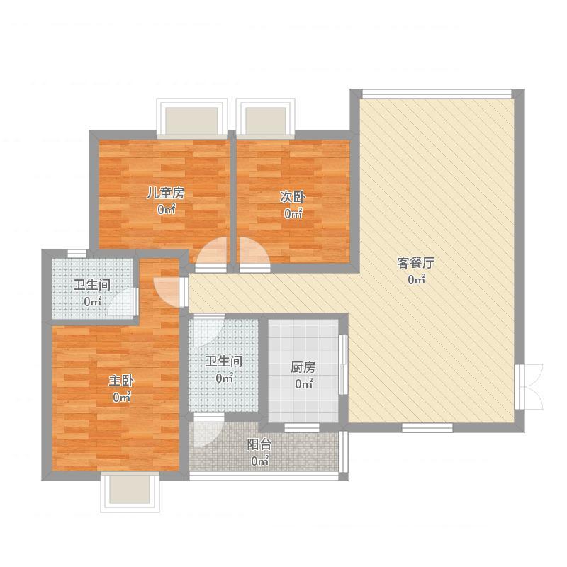 新华都1号楼2单元2503_2016-03-21-1458
