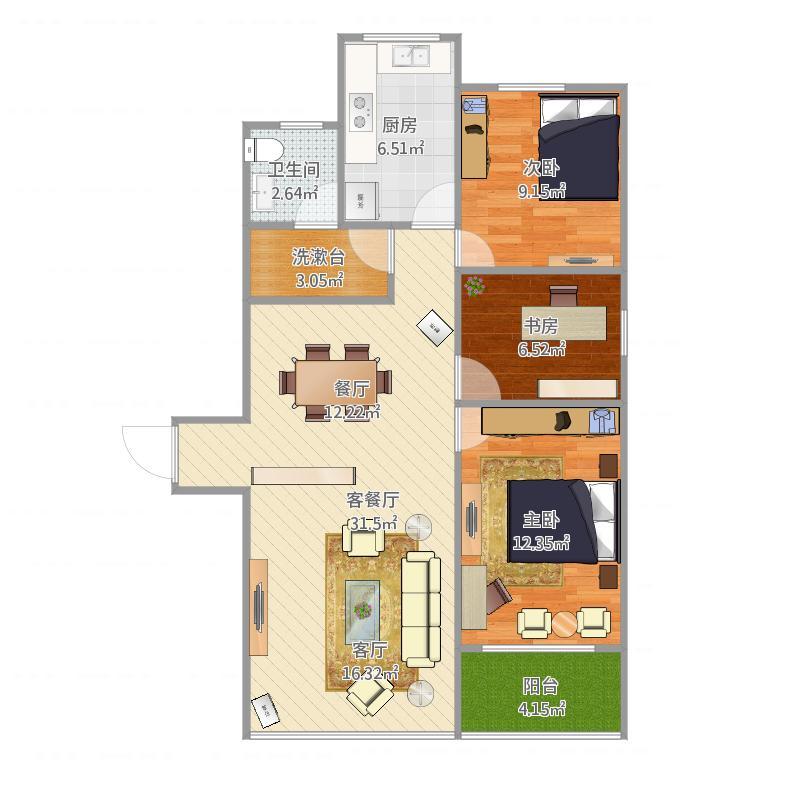 联合公寓C1