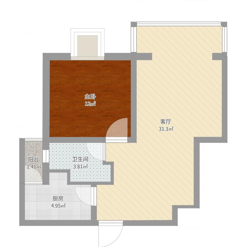 繁荣华庭25号1503室