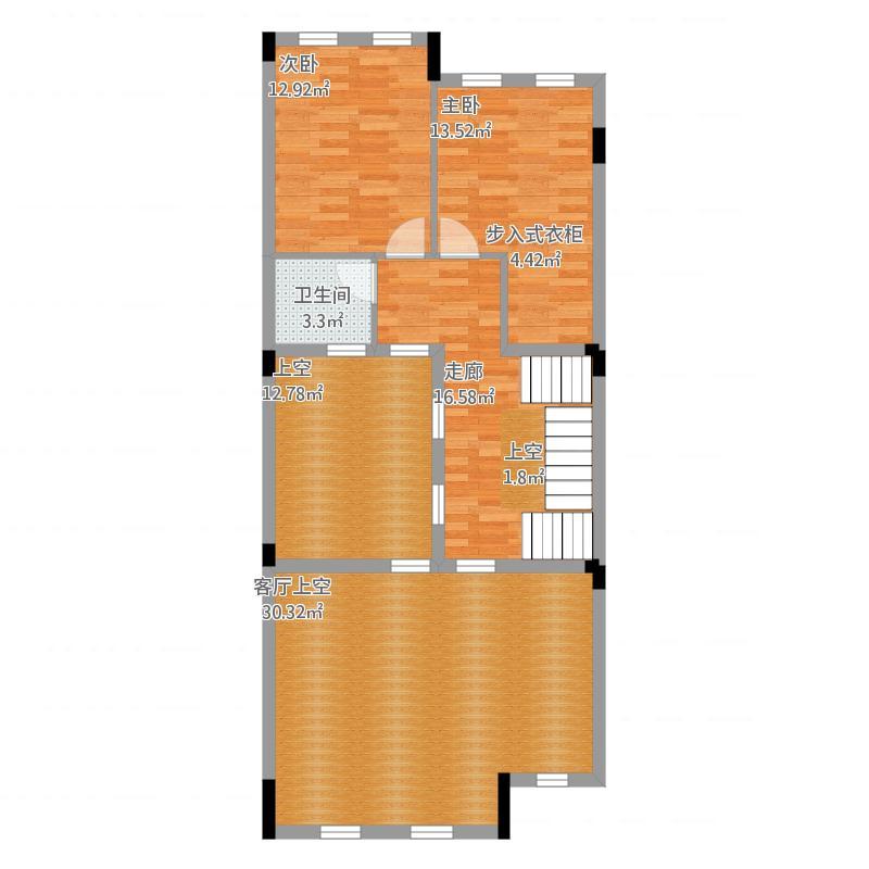 惠州_金山湖凯旋城别墅_三期N1户型第2层