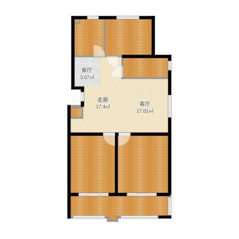 盛唐世家5室2厅1卫1厨143.00㎡户型图