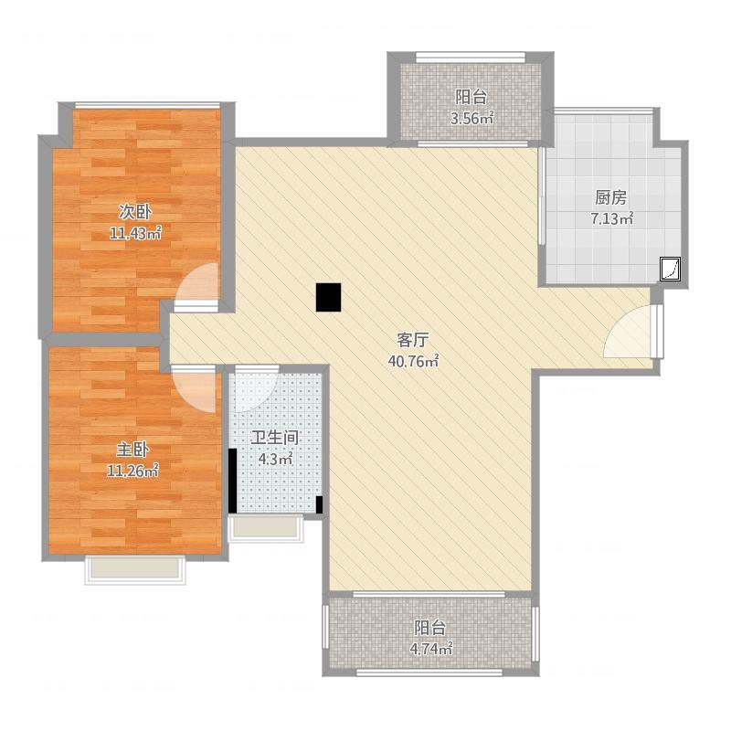 聚然朗庭5-18011楼