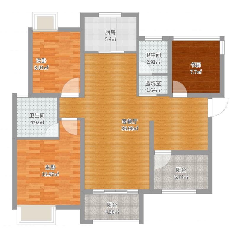 48668-C3-105平米