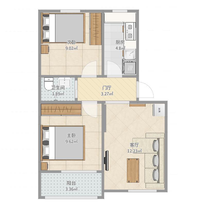 青岛_青岛公寓_2016-03-29-2022