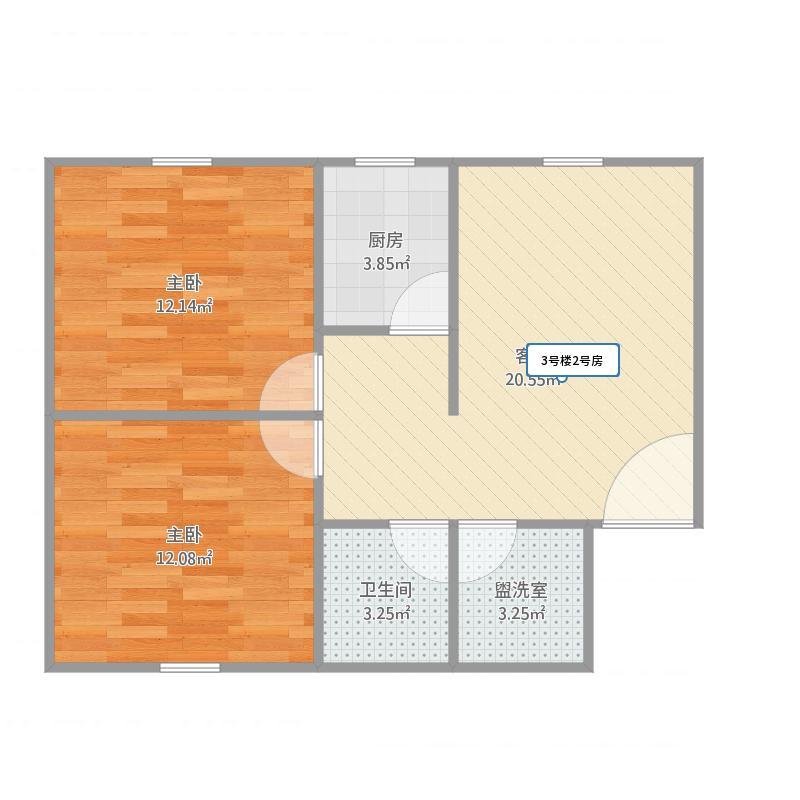 西宁_甘河公寓楼2号房_2016-04-07-0948