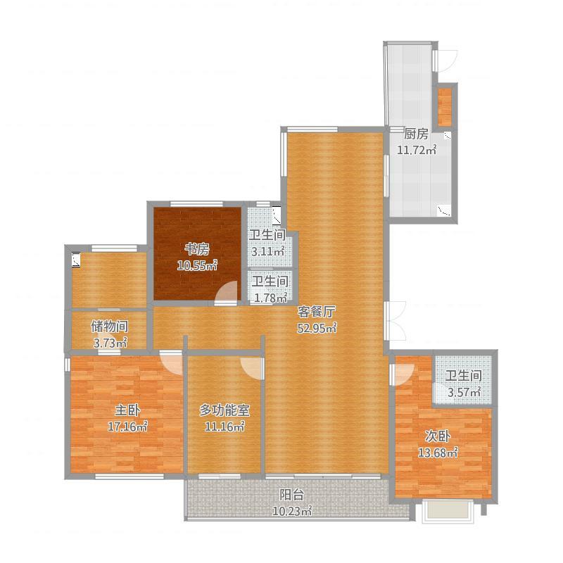 房型A 190平方