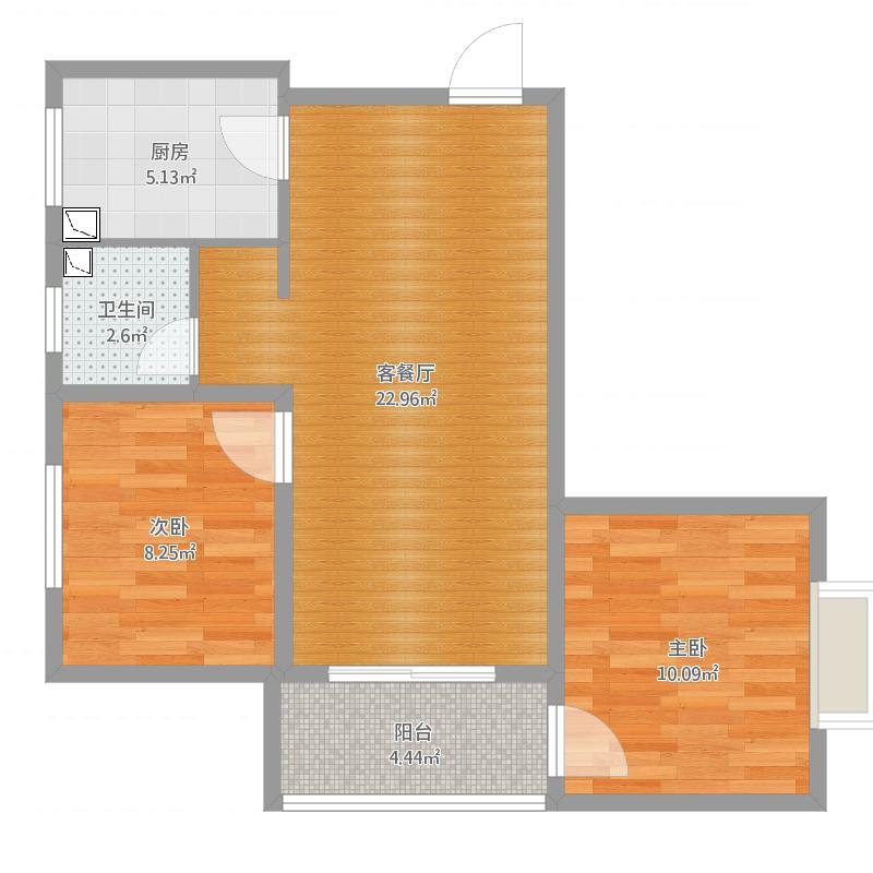 名都两室两厅