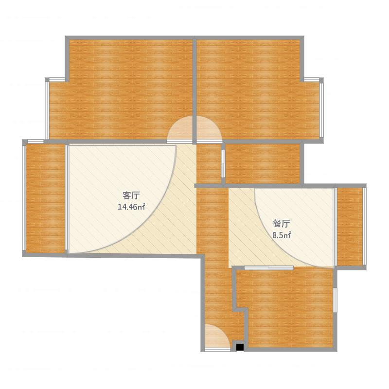 铁山小区25栋1单元503室两室两厅