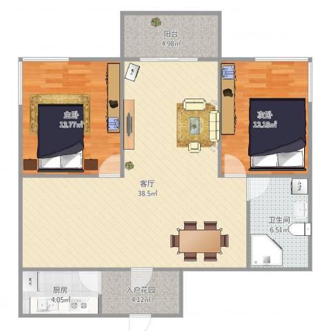 航天佳苑A12室1厅1卫1厨112.00㎡户型图