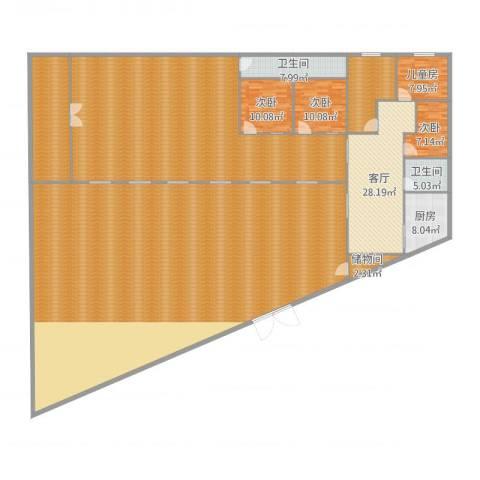兴旺家园24室2厅5卫1厨493.00㎡户型图