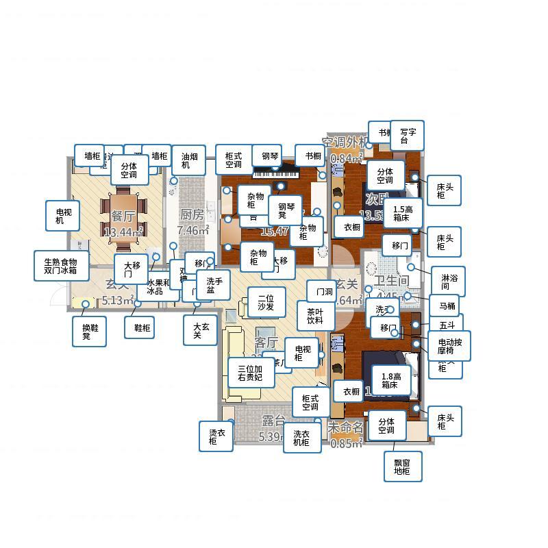 南京_仙林国际花园D栋1101室装修图