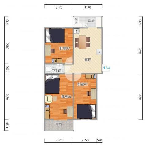 大柳树甲17号院3号楼2门4层12号