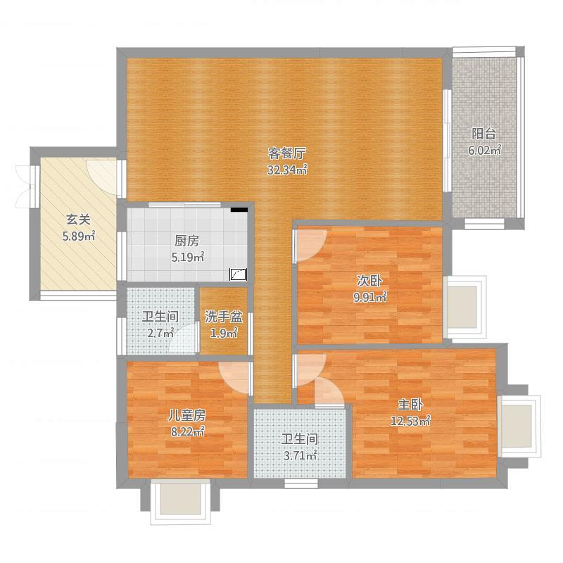 黄沙村D-D房现代风格