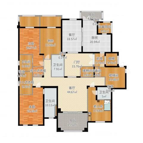 绿城兰园6室4厅9卫1厨353.00㎡户型图