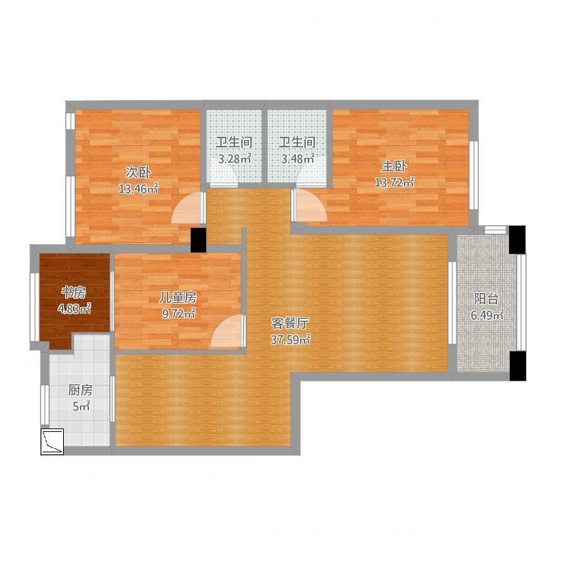 御龙湾2#1605卧室kjl