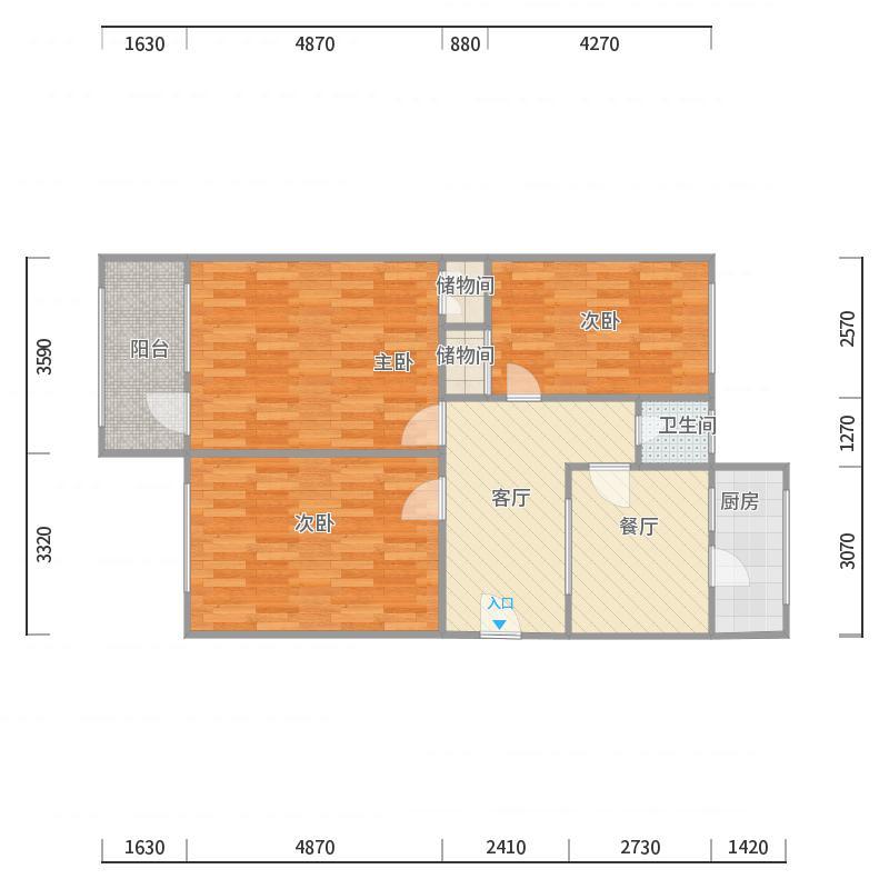 马鞍山路单位宿舍3室1厅1卫