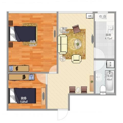 菽香里一巷C12室1厅1卫1厨67.00㎡户型图