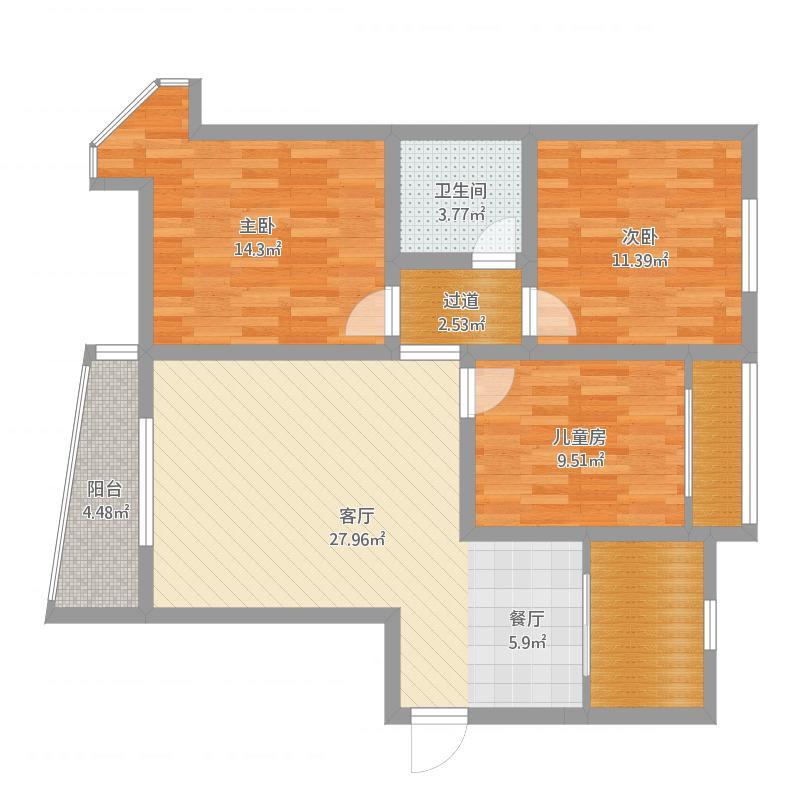 龙居装饰汇邦12-2-730室