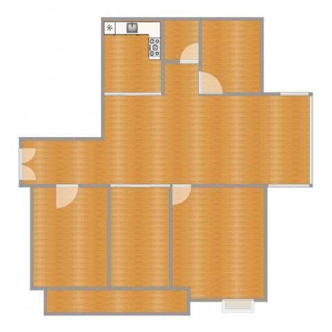欧堡利亚尊园15/4014室1厅2卫1厨124.00㎡户型图