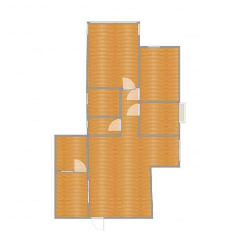 嘉富广场二期2室1厅3卫1厨91.00㎡户型图