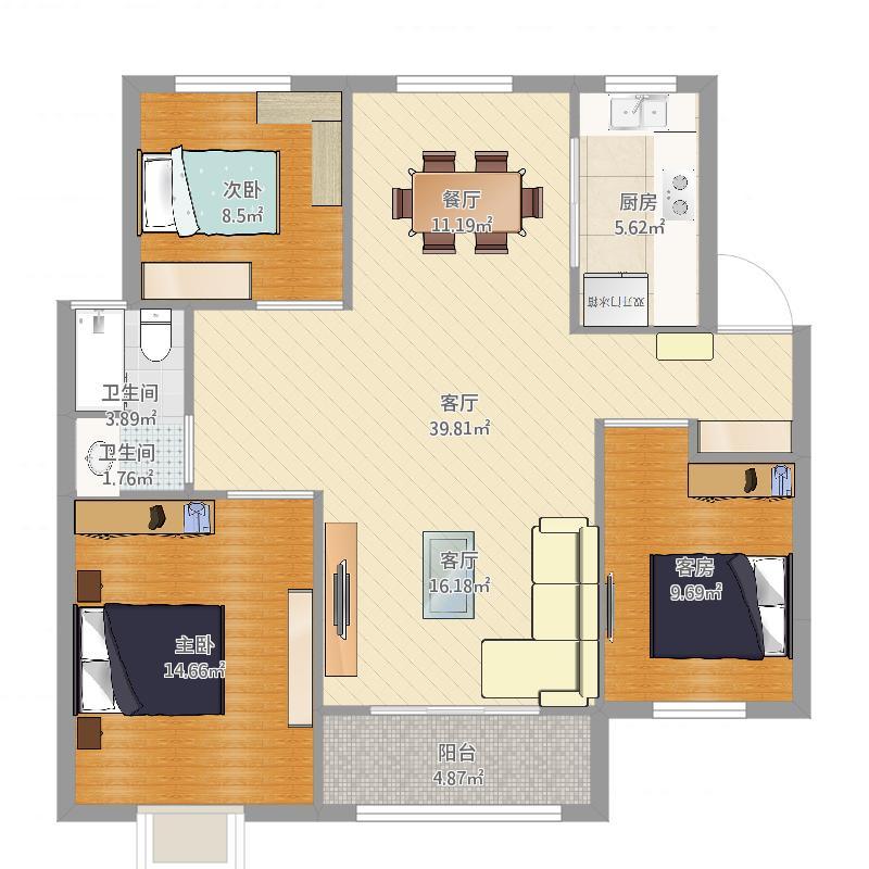 三室两厅_2016-04-02-1651