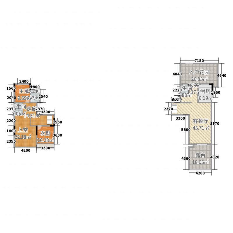天鹅湖2163.20㎡QQ图片20160315230135户型2室2厅1卫1厨