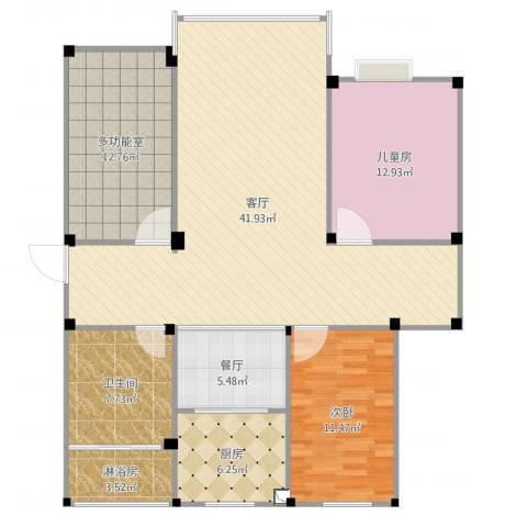 海天连城3-2-5022室2厅1卫1厨128.00㎡户型图