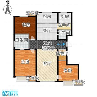新梅江·万科柏翠园155.00㎡2、3、6、14号楼双层户型3室2厅-副本