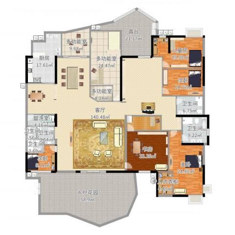 星河传说天玺5室3厅7卫1厨507.00㎡户型图