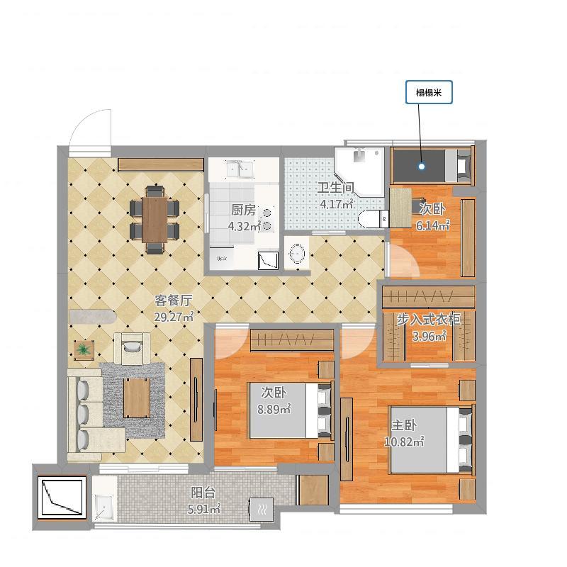 国骅住宅19#(4层)建筑