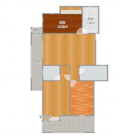 蔚兰星城4室1厅3卫2厨157.00㎡户型图