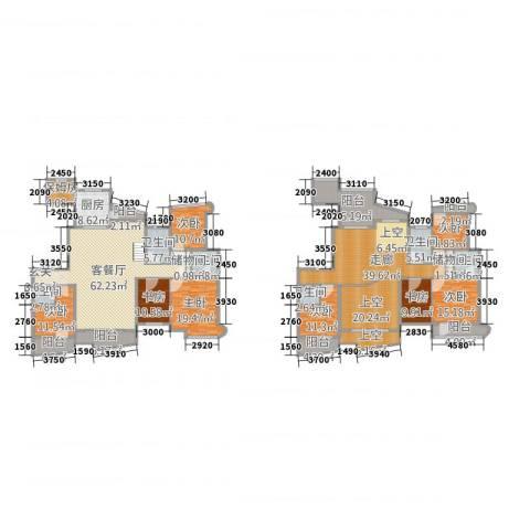 盈馨佳苑8室2厅6卫1厨452.00㎡户型图