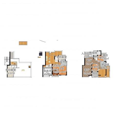 远大都市风景4室2厅9卫1厨330.00㎡户型图