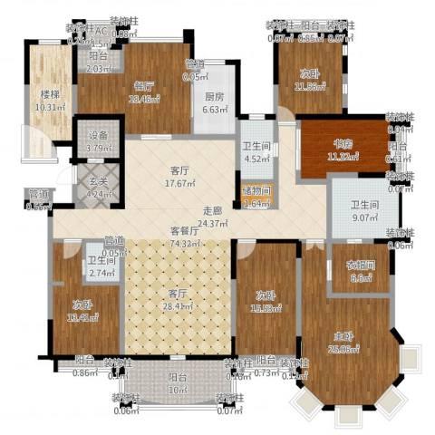 荣禾曲池东岸6室4厅9卫1厨292.00㎡户型图