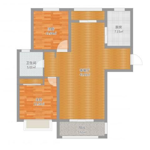 彰武路120弄小区3室2厅1卫1厨111.00㎡户型图