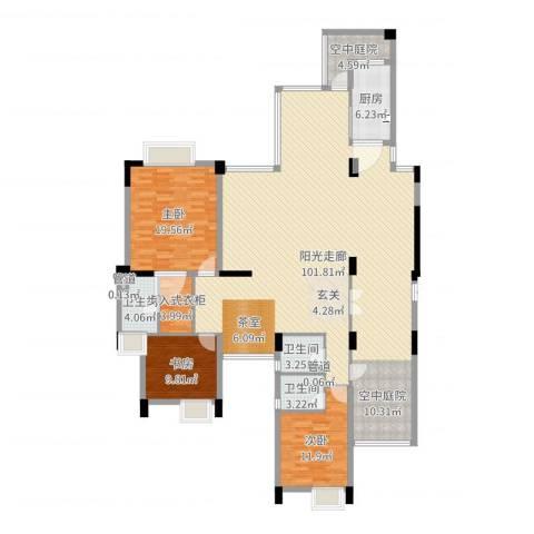 海畔嘉苑4室1厅5卫1厨211.00㎡户型图